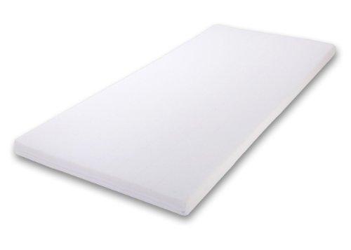 Best For Kids Babymatratze 60x120x6 cm Bezug 100% kuschelweiche Baumwolle (Weiß)