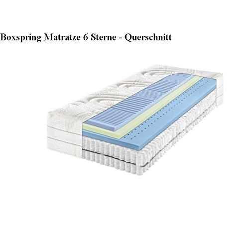 f a n boxspring matratze 6 sterne 100 200 cm h 3 fest tonnentaschenfederkern matratze. Black Bedroom Furniture Sets. Home Design Ideas