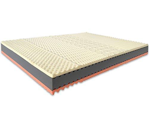 marcapiuma matratze memory soia bio 150x200 cm 22 h he rainbow plus doppelbett 3 schichten. Black Bedroom Furniture Sets. Home Design Ideas