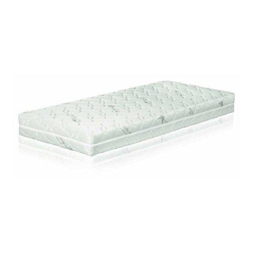 "Micro-Tonnen-Taschenfederkernmatratze ""München-1000"" Boxspringbett-Matratze, 7-Zonen (90 x 200 cm H4)"