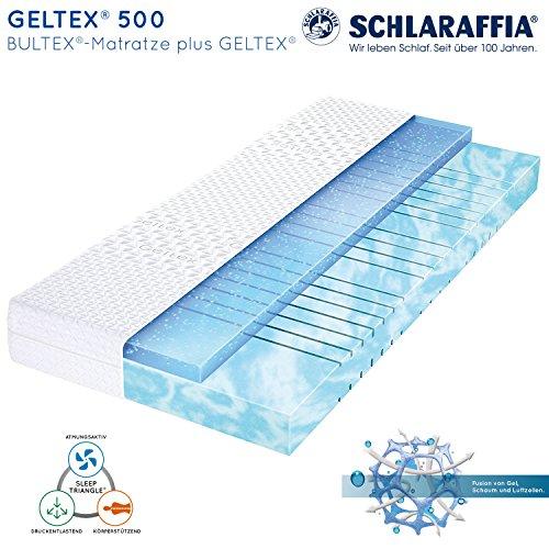 Schlaraffia Geltex 500 Bultex Matratze 90x200 cm H2