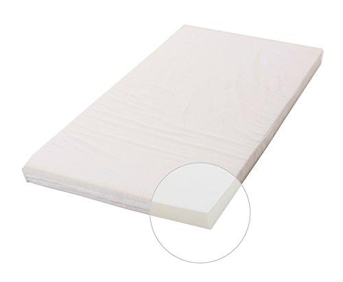 Osann Kinderbettmatratze Kindermatratze Babymatratze Dreamer in verschiedenen Größen und Ausstattungen, LGA schadstoffgeprüft, 140 x 70 x 7 cm weiß (Basic)