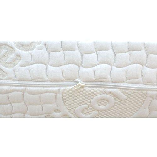 orthop dische 7 zonen kaltschaummatratze rg 50 sensitive pure medicottbezug h rte h2 bis max. Black Bedroom Furniture Sets. Home Design Ideas