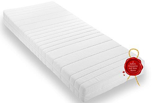 Wohnorama Qualitäts Matratze eine Komfortschaum H3 ca. 16cm Rollmatratze inkl. Klimafaser, Öko-Tex 100 Standard, umlaufender 4 Seiten Reißverschluss, 5 Jahre Garantie 90x200
