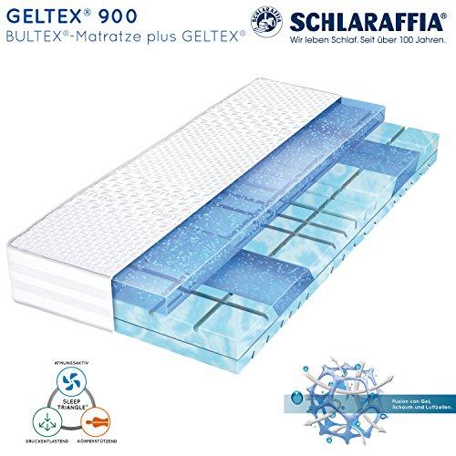 schlaraffia geltex 900 bultex matratze 90x200 cm h3. Black Bedroom Furniture Sets. Home Design Ideas