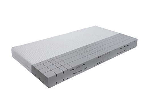 orthopädische 7 Zonen Kaltschaummatratze Sleep-Line-Classic Medicottbezug Härte: H3 (ab 85kg) Gr.140x200 cm