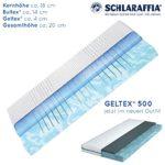 Schlaraffia Geltex 500 Bultex Matratze 80x200 cm H2
