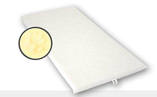 Best For You Topper Visco Viscoelastische Auflage Kern 4 cm. + versteppter Bezug 1 cm mit TÜV Zertifikat aus Policotton für die Füllung! Viele Größen zur Auswahl ab 60x120 cm bis 200x200 cm
