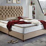Boxspringbett Vegas Hotelbett Doppelbett Matratze Topper Modern Luxus Bett
