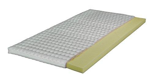 """Breckle VISCO TOPPER """"Ortho Visco"""" von Betten-Traum-Land mit hochwertigem thermoelastischen Schaum - Matratzenauflage Auflage mit abnehmbaren Bezug"""