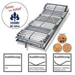 Irisette Lattenrost Baltrum mit 7 -Liegezonen und 28 Federholzleisten