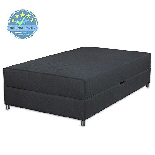 Betten-ABC® Schwarzwald Comfortbox-MINI Bonellfederkernmatratze + Bettkasten - Grösse 90x200