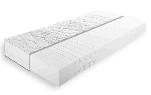 BRECKLE LLQ SILVER PERFECT 7-Zonen Kaltschaummatratze, 90 x 200, Härtegrad 2