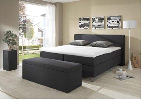 Breckle Boxspringbett 160 x 200 cm Cozy Box Elektro Inspiration Hollanda TFK Topper Gel Comfort