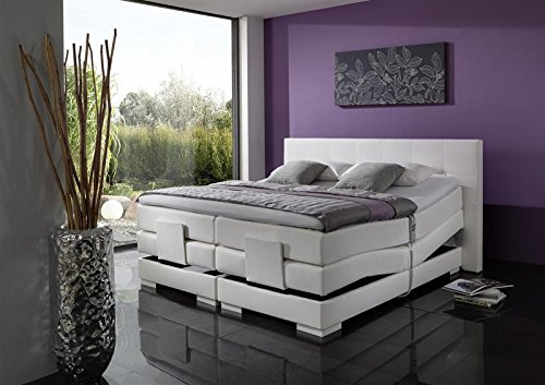 Breckle Boxspringbett 160 x 200 cm Oxford Box Stauraum 1000 TFK Big Topper Gel Premium Comfort
