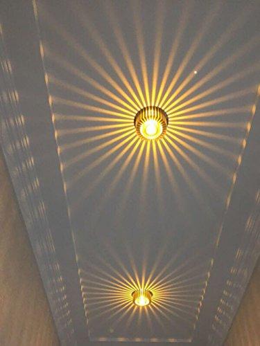 Deckenleuchte Flur Schlafzimmer Balkon Deckenstrahler Wohnzimmer Badezimmer Treppen Korridor Lampe 3W Deckenlampe Innen LED
