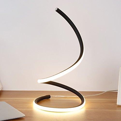 LOFAMI Kunst kreative Mode LED Schlafzimmer Nachttischlampe, Arbeits-Studie Auge Lampe, einfache moderne Wohnzimmer Hotel Dekoration Tischlampe