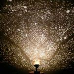 Minidiva® Romantische Stern-Nachtlichter Projektor-Nachtlampe Sternenhimmel Schlafzimmer Dekoration Beleuchtung Gadget