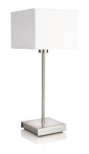 Philips myLiving Tischleuchte 366793116Tisch-Lampen (weiß, Metall, Schlafzimmer, Wohnzimmer, moderne, IP20, II)