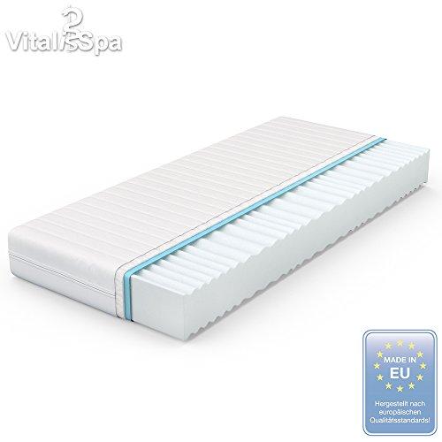 VitaliSpa® Calma Comfort Plus 7 Zonen Premium Kaltschaum Matratze