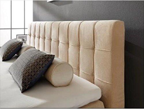Breckle Boxspringbett 160 x 200 cm Calvadore Box Miodormio TFK 1000 Formschaummatratze My Balance 20 Topper Gel Premium Comfort
