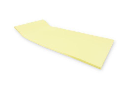 Dibapur ®: VISCO SOFT Viscoelastische Matratzenauflage - Visco Auflage - Topper Memory Auswahl: x Kern 4 cm (Ohne Bezug)