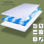 Gelschaum Topper HydroBlu Gel Komfort Matratzenauflage RG40