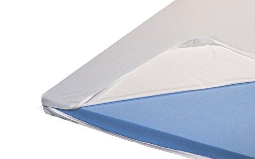 H2 Premium Topper Matratzenauflage Kaltschaum mit Bezug RG 45 Höhe 8 cm