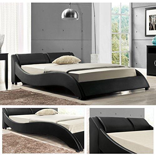 OSLO Doppelbett Polsterbett Bettgestell Bett Lattenrost Kunstlederbett
