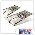 42 Leisten Rahmen Lattenrost UV (starr, unverstellbar) (1, 90 x 190 cm)