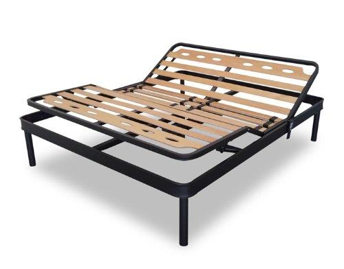 Elektrische Lattenrost aus Eisen Eineinhalbbett für Kräftige Staturen Orthopädische 120 x 200 cm