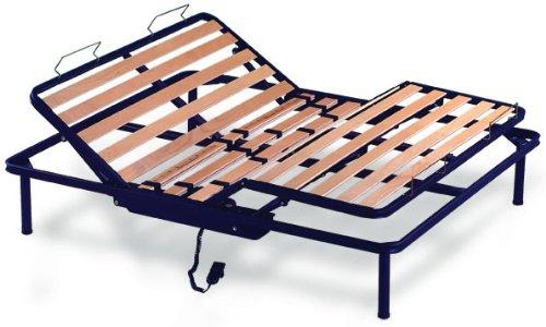 Kiwi Elektrischer Lattenrost aus Holz Doppelbett 160x 200cm