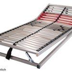 Schlaraffia Classic 28 Gasdruck 5-Zonen verstellbarer Lattenrost 140x200 cm