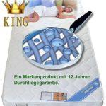 Wolke7 Bayscent KING Gelschaum Matratze Gelmatratze 80x200