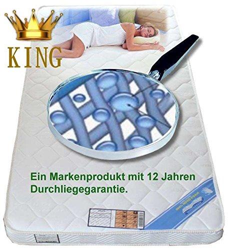 Wolke7 Bayscent KING Gelschaum Matratze Gelmatratze 140x200