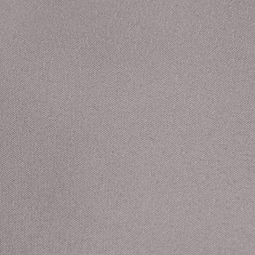 AmazonBasics Spannbetttuch, Mikrofaser, Dunkelgrau, 140x200x30cm