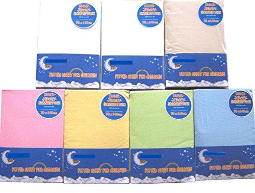 HAHN Jersey-Spannbettlaken für Kinderbett, 70x140 cm