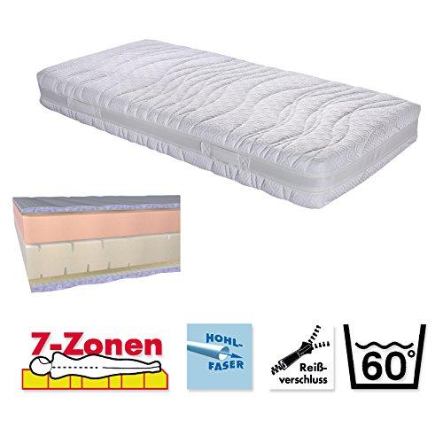 Malie Matratze CENTAURI 7-Zonen-Kaltschaum RG40 + Viskoschaum H2
