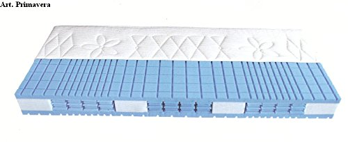 Malie Primavera Greenfirst 7-Zonen-Kaltschaum-Matratze mit Hylex-Spring-Technology, Größe:120 x 200 cm;Härtegrad:H1