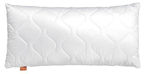 sleepling 190026-P Komfort 200 Kopfkissen Mikrofaser Baumwolle Mischgewebe, Weiß