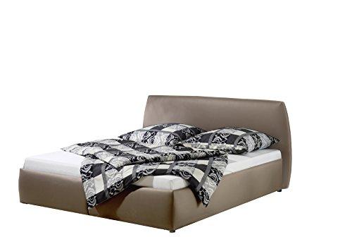 Maintal Betten 232655-4130 Polsterbett Minu 140 x 200 cm, Kunstleder