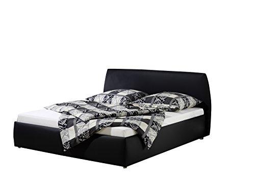 Maintal Betten 234962-4693 Polsterbett Minu 180 x 200 cm, Kunstleder