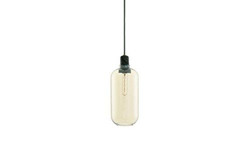 Normann Copenhagen - Amp Hängeleuchte - Gold/grün - L - Simon Legald - Design - Deckenleuchte - Pendelleuchte - Wohnzimmerleuchte