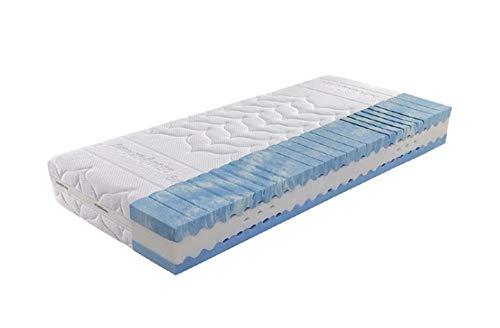 Dermapur® Feeling 18 7-Zonen-Kaltschaummatratze 90x200 cm inkl umlaufenden Klimaband und Klimakanälen