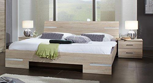 Wimex Schlafzimmer-Set Anna, Aufleistung Chrom glänzend